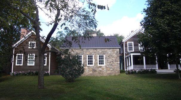 Farmhouse Exterior by SchappacherWhite Architecture D.P.C.