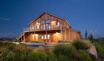 Farmhouse style home and winery.