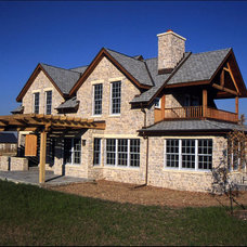 Traditional Exterior by Parrish Construction