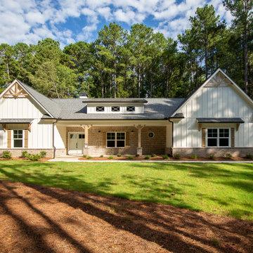 Farmhouse Style Ranch Home
