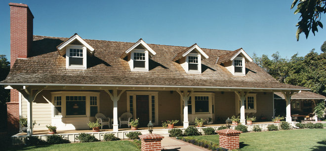 Traditional Exterior by Tom Meaney Architect, AIA