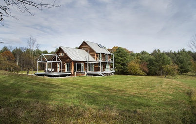 Houzz Tour: Passive House in Vermont Slashes Heating Bills