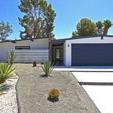 Midcentury Exterior by American Coastal Properties