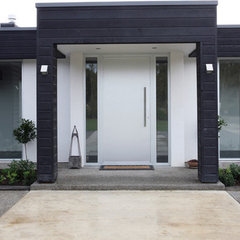 modern exterior by Fat Hippo Design Group Limited