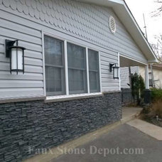Traditional Exterior by Faux Stone Depot