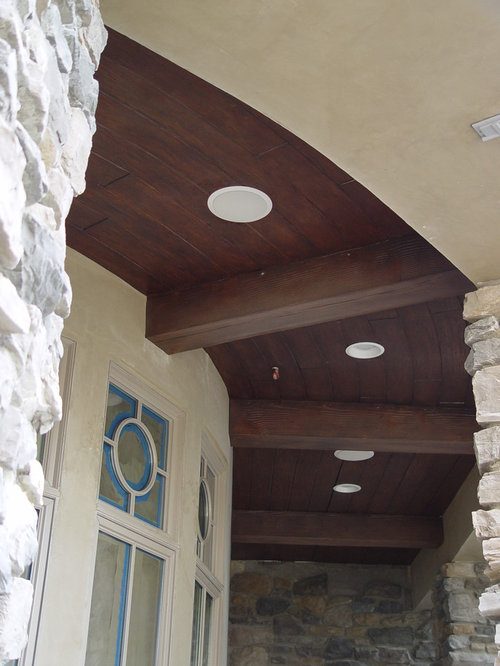 Faux Wood Beams Exterior Design Ideas Renovations Photos