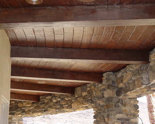 Exterior Decorative Wood Beams Faux Wood Beams Rustic Exterior