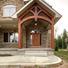 Traditional Exterior by Quality Construction Services