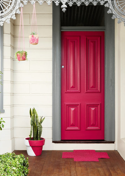 Photo flip 77 front doors to welcome you home - Ici exterior paint pict ...