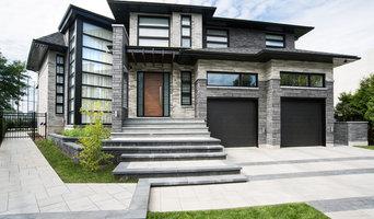 Fenêtre hybride noir - Hybrid black windows