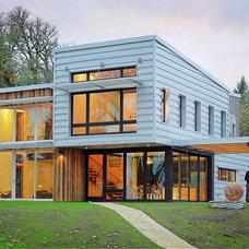 Contemporary Exterior by STUDIO-E Architecture