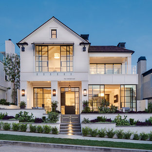 Coastal exterior home photo in Orange County