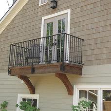 Traditional Exterior by RE Garrison Enterprises LLC
