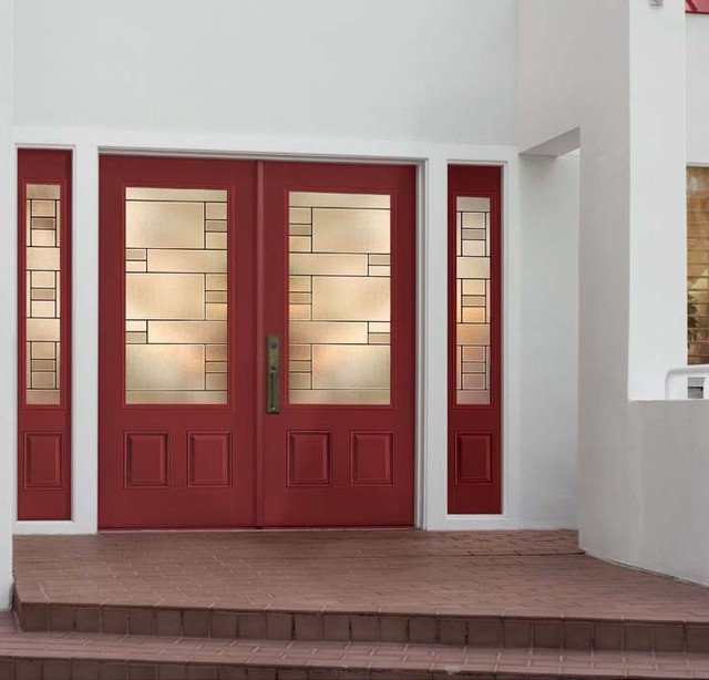 Traditional Exterior by US Door & More Inc