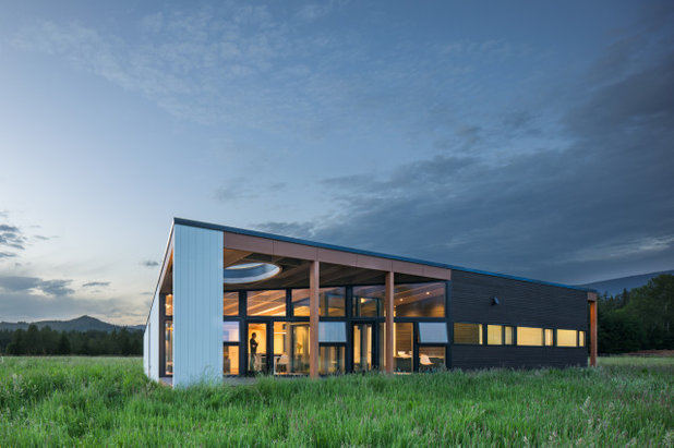 Модернизм Фасад дома by David Coleman / Architecture
