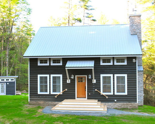 Small Antique Slate Shingles Home Design Ideas, Pictures, Remodel and Decor - 웹