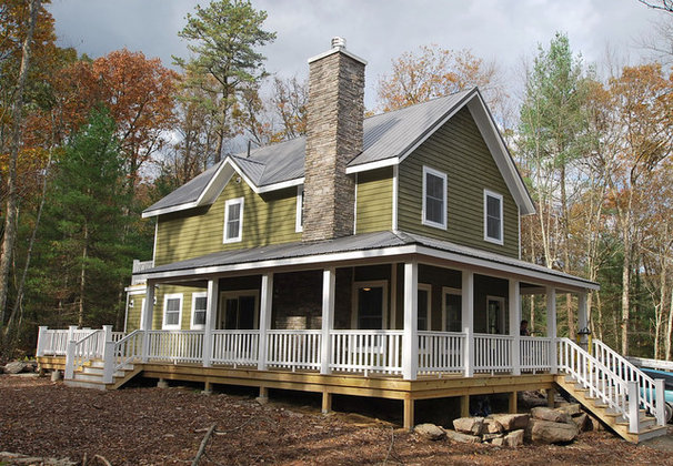 Traditional Exterior by Catskill Farms