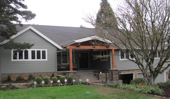 Finished Remodel- Siding Replacement, Rock Siding Installation, Front Entry Addi