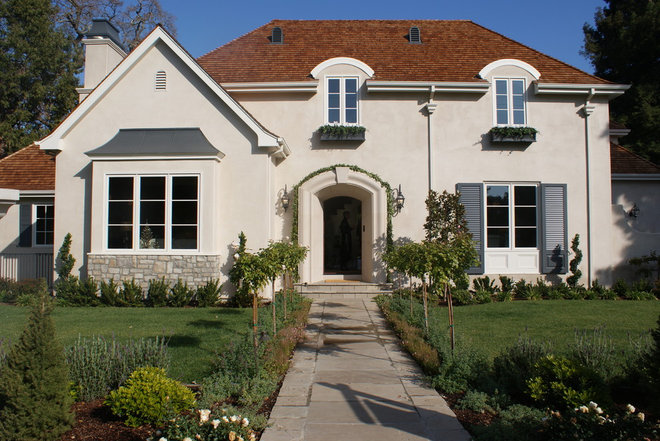 Traditional Exterior Finishing Touches- Junior League of Palo Alto-Mid Peninsula Holiday House Tour
