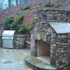 Traditional Exterior by ARNOLD Masonry and Landscape