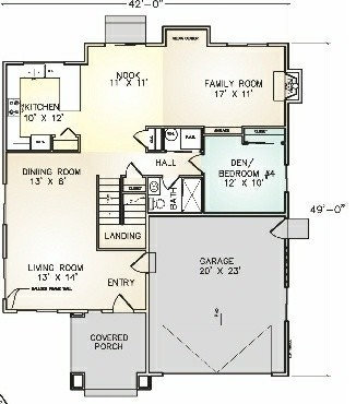 First Floor Plan Home Design Ideas, Pictures, Remodel and ...
