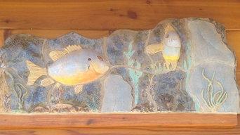 Fish Mural Installation