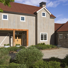 Farmhouse Exterior by roth sheppard architects