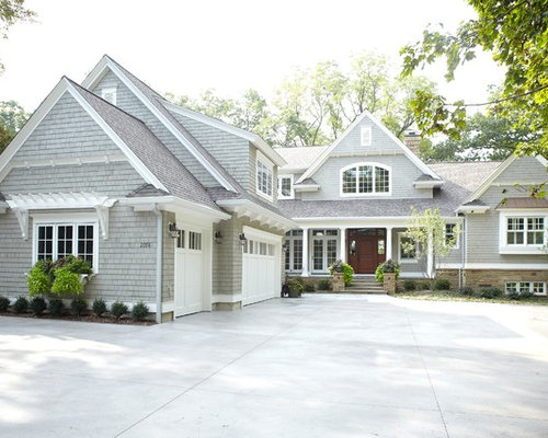 Gray Shingle Home Design Ideas Pictures Remodel And Decor