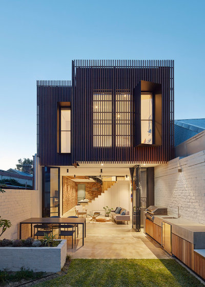 Contemporary Exterior by MMAD Architecture