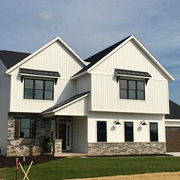 Fixer Upper-Inspired Modern Farmhouse