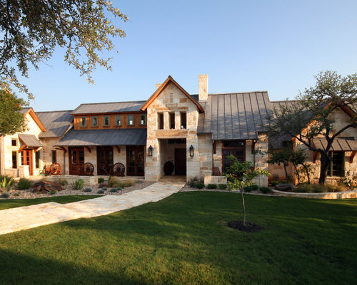 Modern Texas Country Ranch Home Design Ideas Pictures