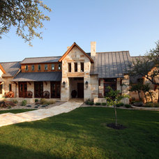 Rustic Exterior by John Lively & Associates