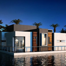 Modern Exterior by United decoration co,