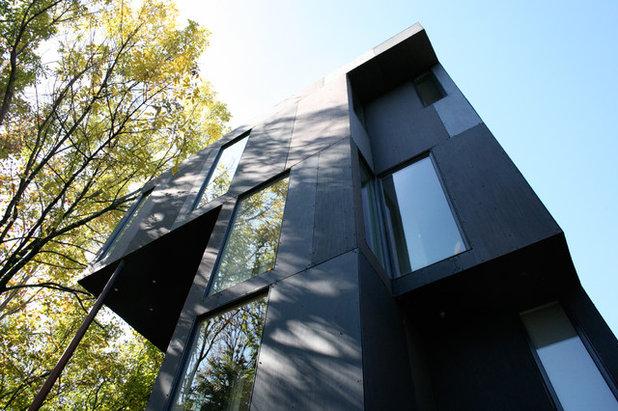Contemporain Façade Florian Hart Residence