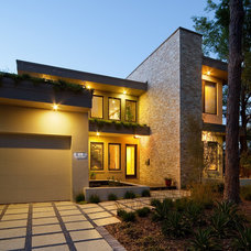 Modern Exterior by Realstone Systems