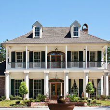 Traditional Exterior by Terry M. Elston, Builder
