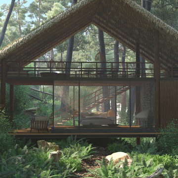 Forest Eco-Cottage