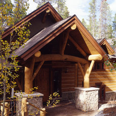 Traditional Exterior by Apex Mountain Homes