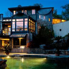 Contemporary Exterior by Burke Coffey Architecture Design Inc.