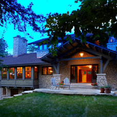 Traditional Exterior by M Valdes Architects PLLC