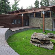 Contemporary Exterior by Roman Leonidov