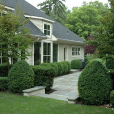Traditional Exterior by Land Architects, Inc.