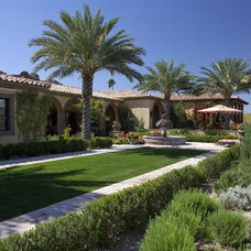 Mediterranean Exterior by Exteriors By Chad Robert