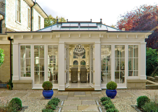 Traditional Exterior by Town and Country Conservatories