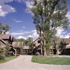 Traditional Exterior by OSM Wyoming, Inc.