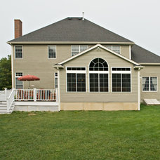 Traditional Exterior by Miller Construction Co Inc