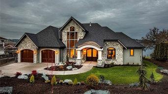 Fox Island custom home