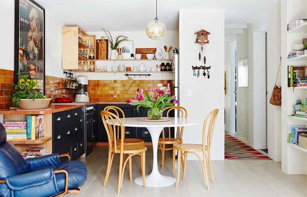 Eclectic Exterior by Context Design and Build