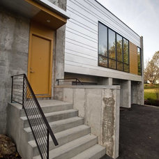 Contemporary Exterior by The ReDevelopment Group