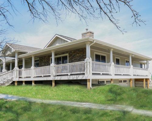 Farmhouse Kansas City Exterior Design Ideas Remodels & s